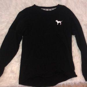 black victoria's secret PINK long sleeve